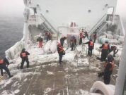 Coast Guard Begins Ice Breaking Operation In Western Great Lakes