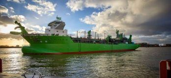 Photo_Royal IHC launches DEMEs LNGpowered TSHD SCHELDT RIVER_2