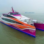 Incat Crowther Launches 40m Catamaran Passenger Ferry in China