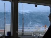 Watch: Incredible Footage Shows Vessel Smashing Through Boxing Day Storm