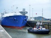 Photos: Oak Spirit Transits The Panama Canal For First Time