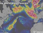 Unique Visualisation Of Ocean And Sea Waves Exposing Transport Hazards Introduced