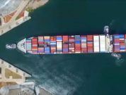 Watch: Aerial View Of Container Ship Entering New Panama Canal Locks