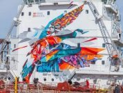 Watch: Video Documenting Making Of The Sea Keeper Mural
