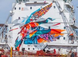 CSL Ship_Sea Keeper mural