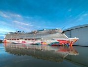 Watch: River Conveyance Of 'Norwegian Joy' – Newest Cruise Ship Of NCL