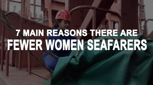 fewer women seafarers