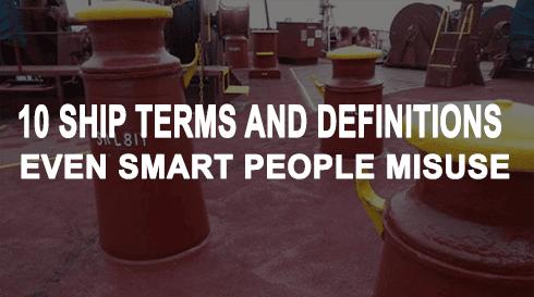 ship terms