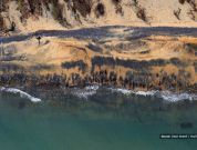 New Pictures Show Extent Of Damage From Adani's Coal Spill