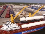 Watch: New Massive LNG Storage Tanks Arrive For Crowley's Jacksonville Bunkering Facility