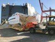 Höegh Autoliners Transport Catamaran Using Custom-Made Equipment
