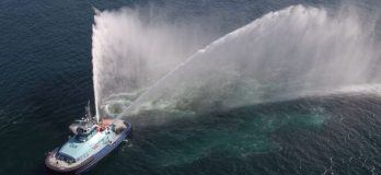 Duel fuel tugboat europe