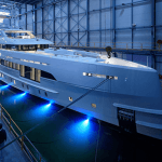 World's First Yacht Fast Displacement With Hybrid Propulsion Launched