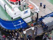 Damen's First Renewables Service Vessel 3315 Delivered To Delta Marine
