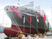 Port Of Rotterdam Prepares For Arrival Of The World's Largest Container Ship