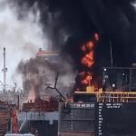 Watch: 2 Shocking Explosions In Shipyards Of Cartagena
