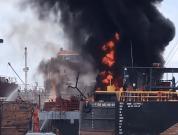 Watch: 2 Shocking Explosions In Shipyards Of Cartagena