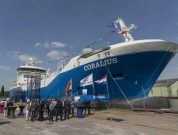 First European Built LNG Bunker And Distribution Vessel Named