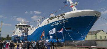 First European Built LNG Bunker And Distribution Vessel Named