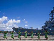 Watch: USS John Finn Commissioning In Pearl Harbor Ceremony