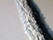 One Of The Biggest Recorded Trillion Ton Iceberg Calved Away In Antarctica