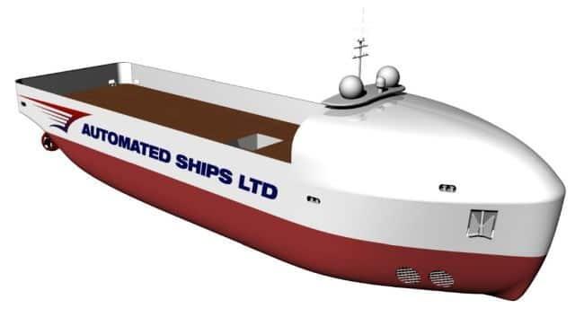 navire autonomous offshore support vessel