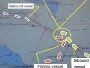 Real Life Incident: Trawler Makes Contact With A Tanker