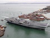 Watch: HMS Queen Elizabeth Makes Debut With First Entry To Her Home Port