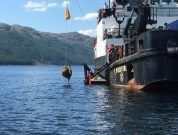 Specialised Underwater Scanner Helps Locate 'Bouncing Bombs' In Scottish Loch
