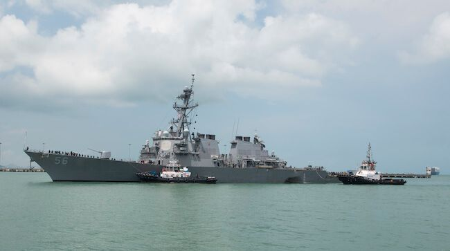 Update: Bodies Of Some Of The 10 Missing USS John McCain Sailors Have Been Found