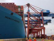 Maiden Call Of 2nd Gen Triple-E 20,568TEU Vessel 'Munich Maersk' To Hamburg