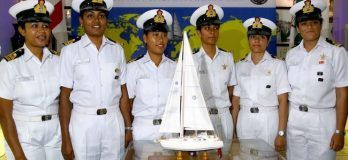 Indian Women Naval Officers Circumnavigating The Globe On An Indian-Built Sail Boat