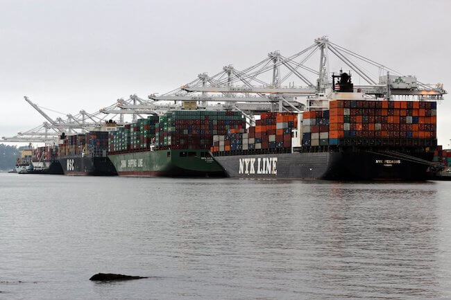 Port Of Oakland Boosts Efforts To Curb Emissions With New High-Power Line