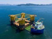Massive Shell Platform Starts Its Journey To Texas