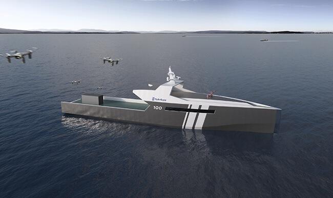 rolls-royce autonomous naval