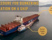 Bunkering is Dangerous : Procedure for Bunkering Operation on a Ship