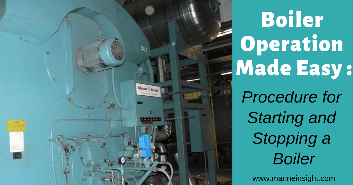 Boiler Operation Made Easy Procedure For Starting And