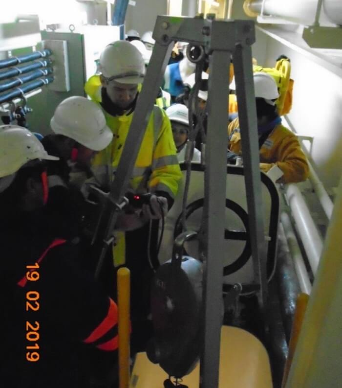 Procedure for Entering an Enclosed Space on a Ship