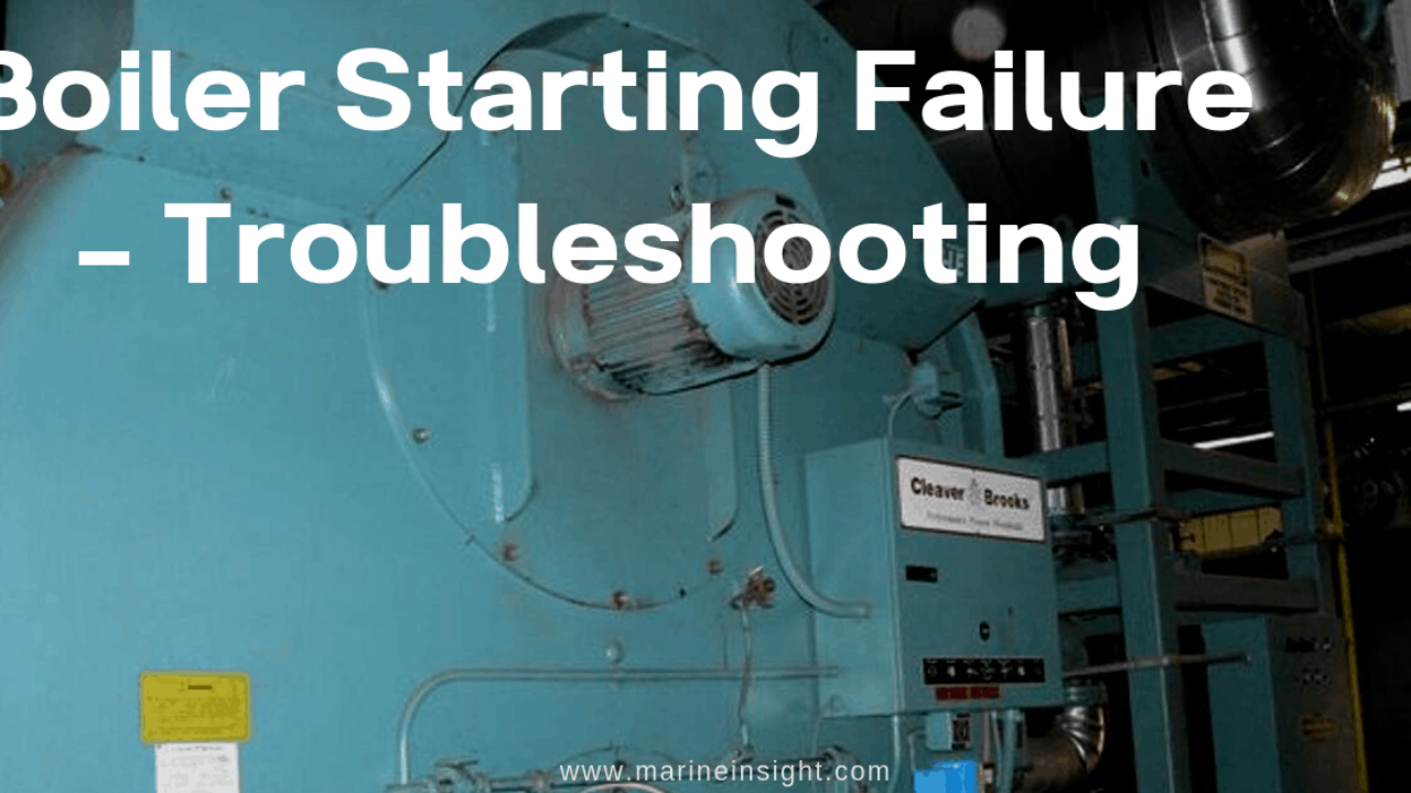[DIAGRAM_5NL]  Boiler Starting Failure - Troubleshooting | Industrial Gas Boiler Wiring Diagram |  | Marine Insight