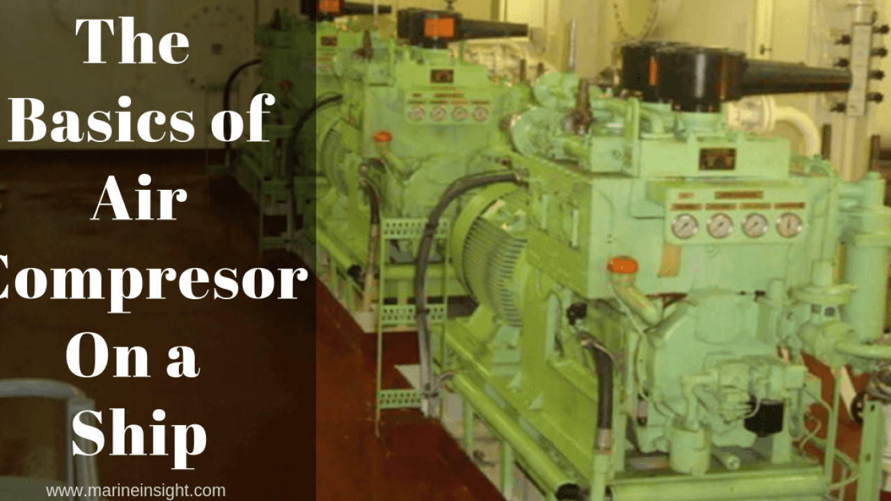 The Basics of Air Compressor On a Ship