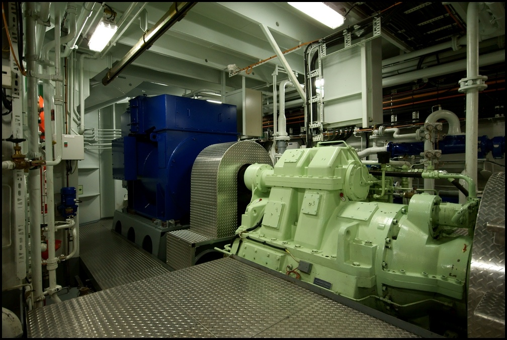 The Green Source Of Power Shaft Generator