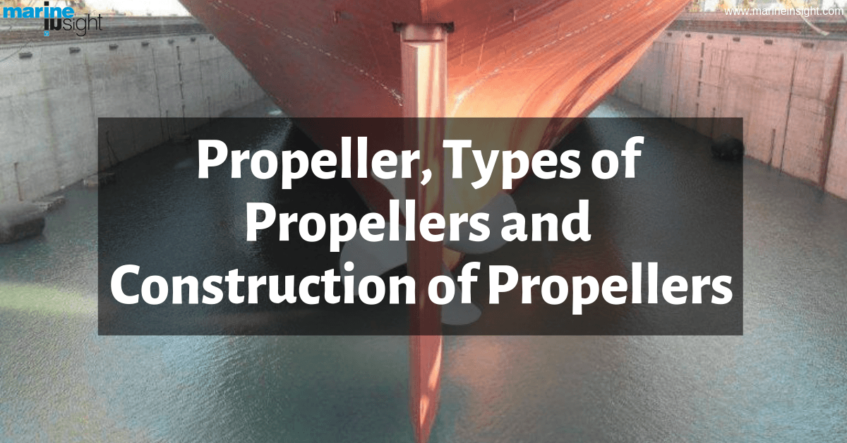 Propeller, Types of Propellers and Construction of Propellers