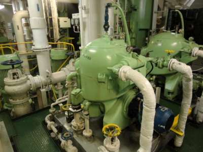High Speed Centrifuge on Ship: Construction and Working