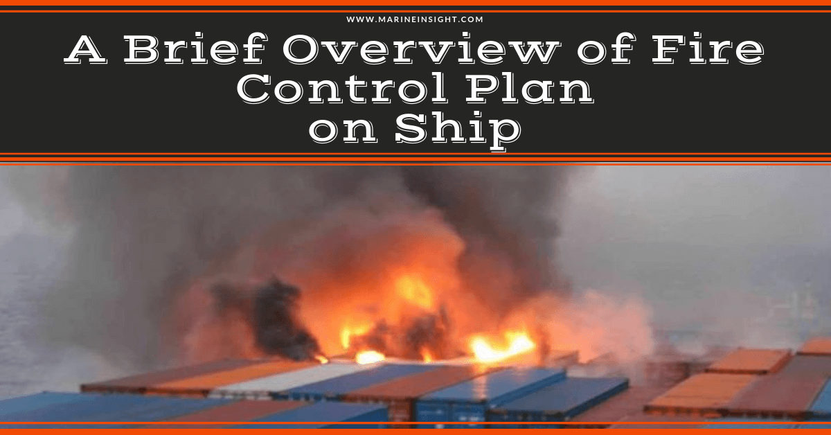 A Brief Overview of Fire Control Plan on Ship