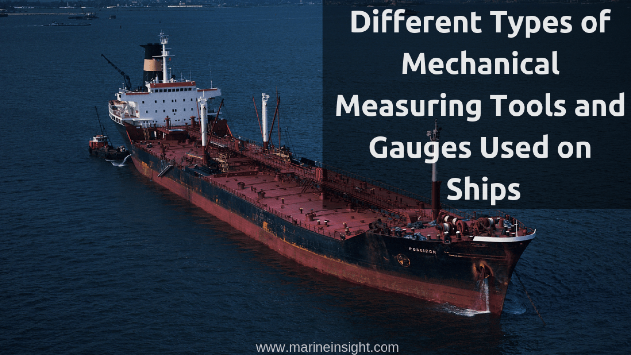 Different Types of Measuring Tools and Gauges Used on Ships