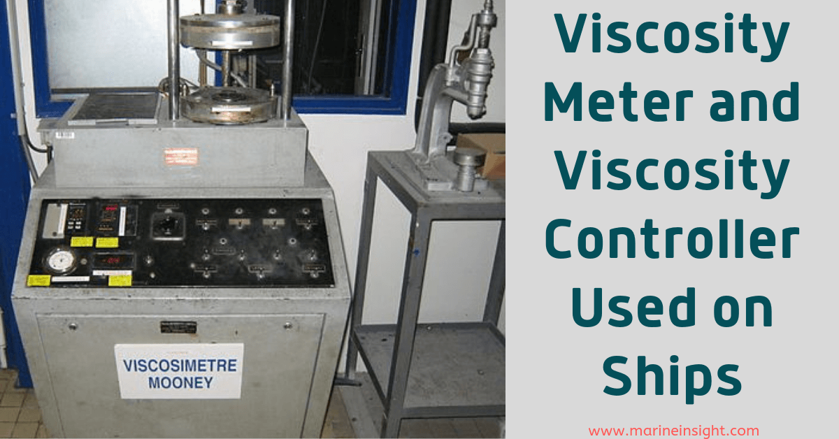 Viscosity Meter and Viscosity Controller Used on Ships
