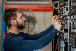 Electronic Circuit on Ship