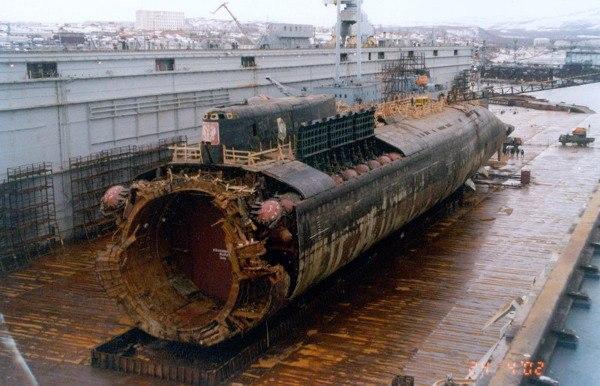 Kursk Submarine