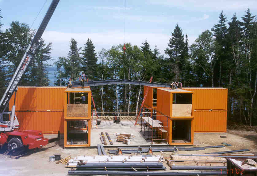 7 benefits of shipping container home design for What goes into building a house