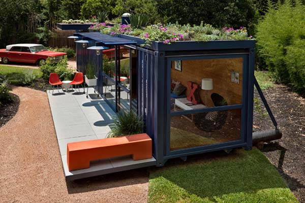 Freight Container House 7 benefits of shipping container home design